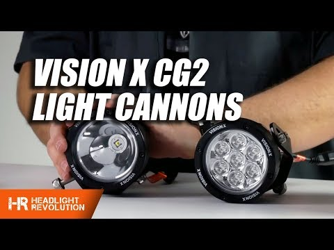 Vision X CG2 LED Light Cannons Review and Demo - These things are insane!