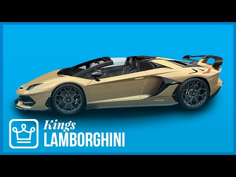 How Lamborghini Became The KING Of Poster Cars