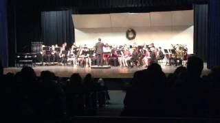 AHS Wind Ensemble - Sleigh Ride - Holiday Concert December 8, 2016