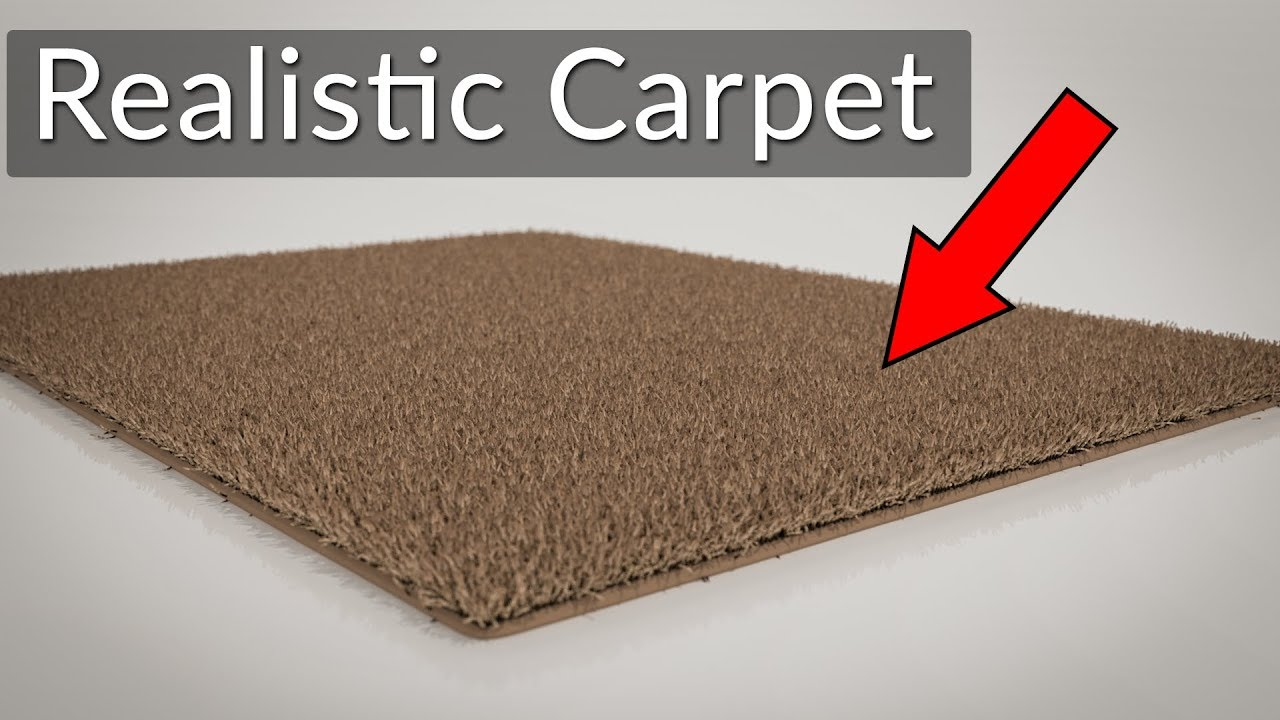 How To Make Realistic Carpet In Blender Particle System Youtube