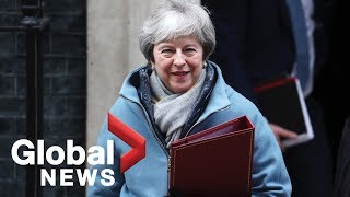 LIVE: Theresa May to present the U.K. House of Commons with a Brexit Plan B