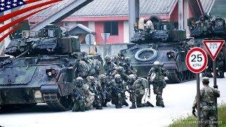 【在韓米軍】韓国で市街戦訓練を行う米軍機甲旅団