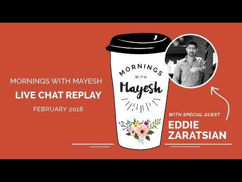 Mornings with Mayesh: February 2018