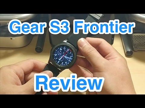 Review Samsung Gear S3 Frontier Lte