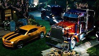 Сэм кормит змея / Автоботы прячутся на заднем дворе / Трансформеры (2007)
