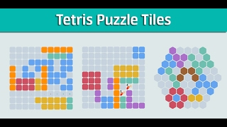 Tetris Puzzle Tiles - Gameplay