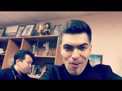 Азамат Мусагалиев показал закулисье съемочной площадки Однажды в России 15.05.2017