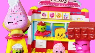 SHOPKINS Kinstructions BAKERY Lego Like Fun Sweet Treats Shopping Store - New Toy Review