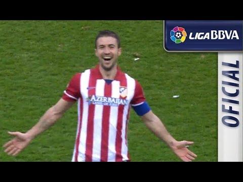 Golazo de Gabi (2-1) en el Atlético de Madrid - Real Madrid