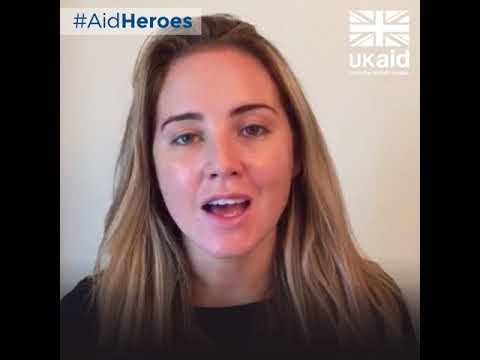 Thanking aid workers from the UK and around the world on World Humanitarian Day