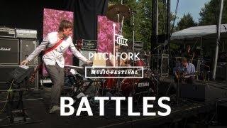 """Battles Perform """"Futura"""" at Pitchfork Music Festival 2011"""