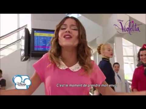 Premi re chanson de la saison 2 de violetta youtube - Musique violetta saison 2 ...