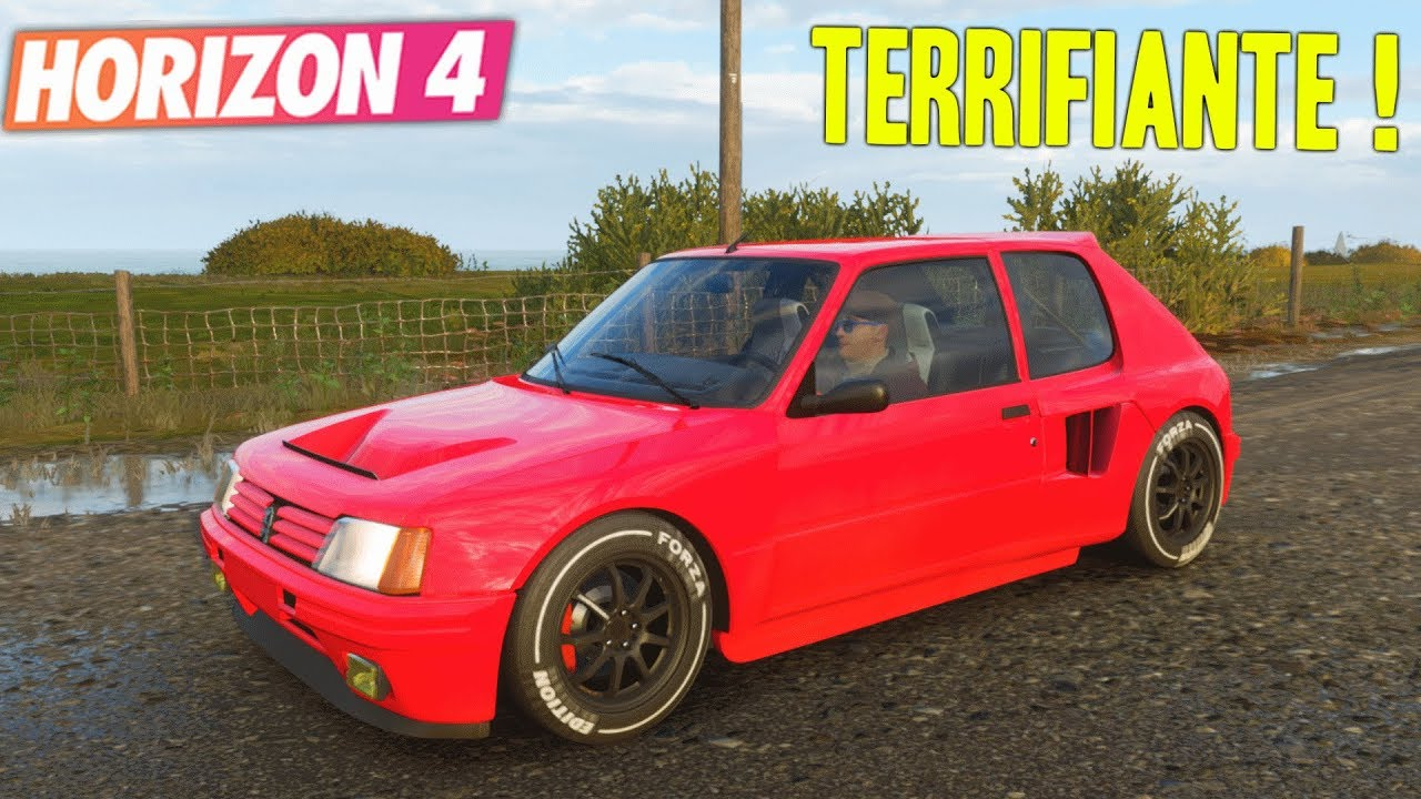 forza horizon 4 peugeot 205 forza edition youtube. Black Bedroom Furniture Sets. Home Design Ideas