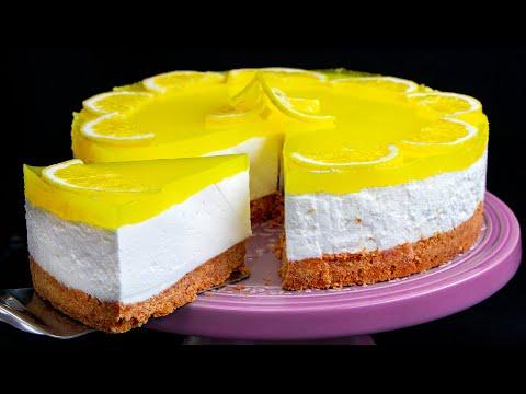 je-ne-cuisine-pas-en-été!-je-fais-le-cheesecake-au-citron-le-plus-rafraîchissant -cookrate---france