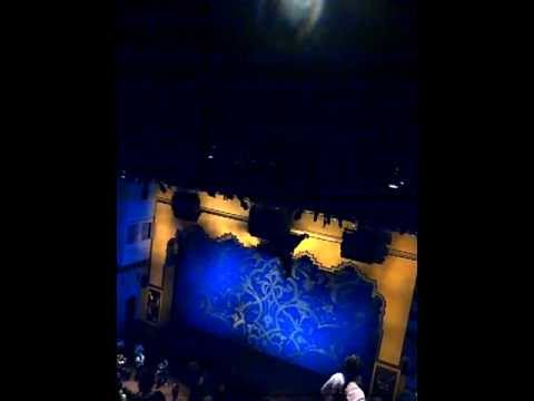 Disneyland - Aladdin show gone wrong 9/25/11