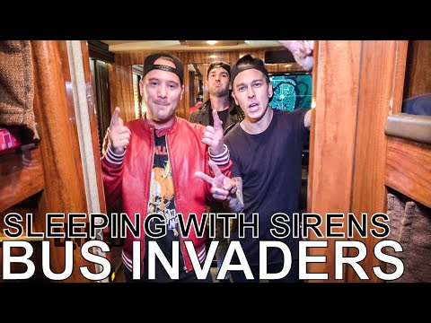 Sleeping With Sirens - BUS INVADERS Ep. 1217