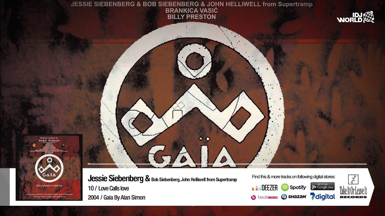 JESSIE SEBENBERG & BOB SIEBENBERG JOHN HELLIWELL FROM SUPERTRAMP