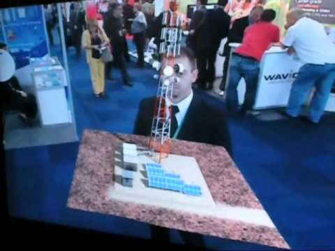 Mer Telecom in Cape Town 2010  Augmented reality
