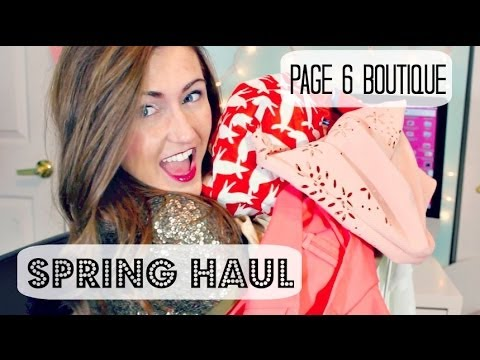 Designer Clothing Haul 2014 Online Fashion Boutique