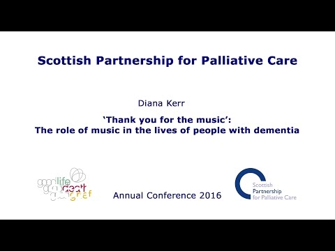 'Thank you for the music': The role of music in the lives of people with dementia