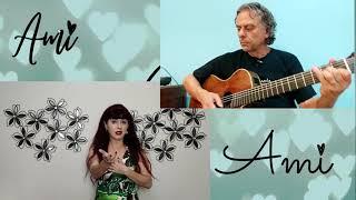 251 Ami cover Esperanta Kanto de Violeta Cancino, Paola Giannini kaj Mundin Rocha, c letra e traduçã