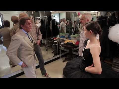 Valentino at NYC Ballet: The Icon in the Costume Shop
