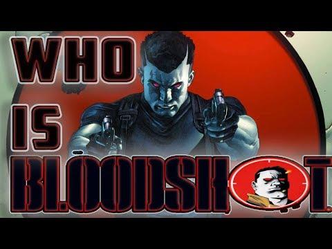 History And Origin Of Valiant's BLOODSHOT!