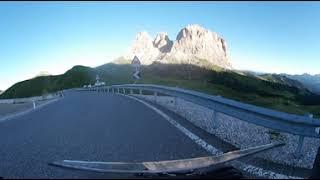 Motorbike ride in 360 VR KTM Super Duke GT in den Dolomiten 360 VR