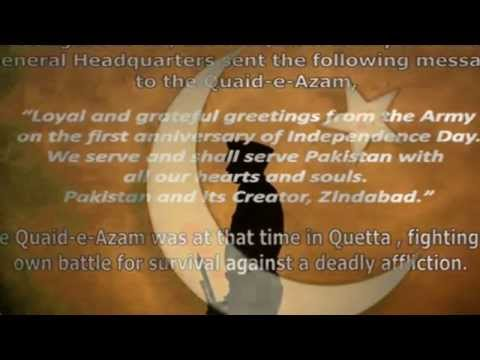 Pakistan Armed Forces salute Quaid-e-Azam Muhammad Ali Jinnah