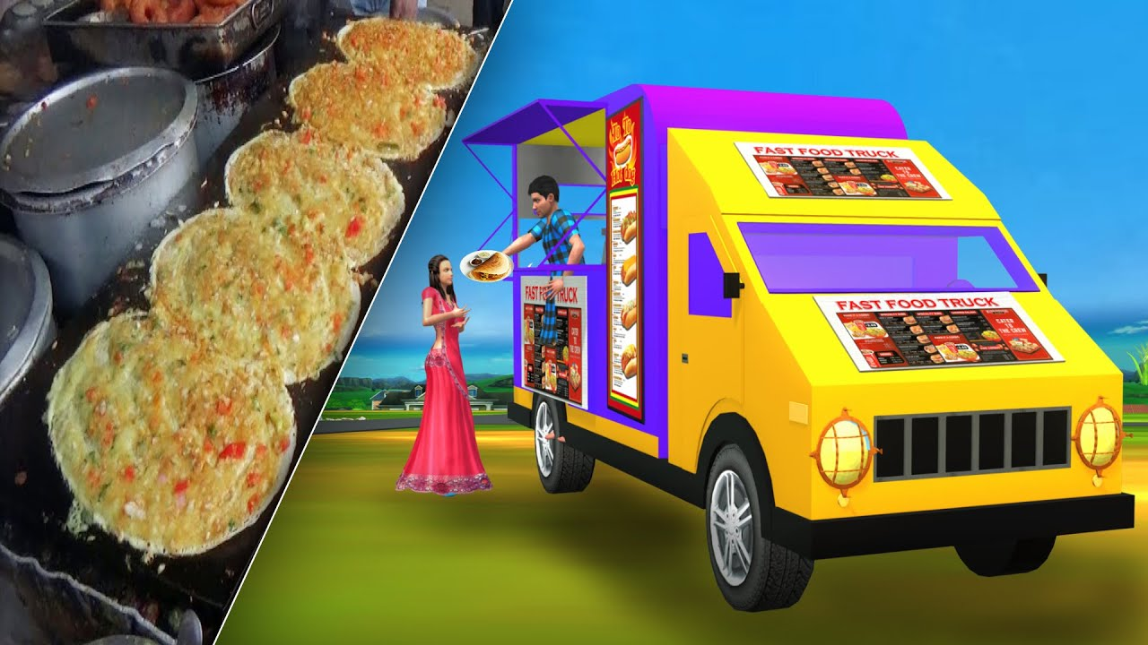 फास्ट फूड ट्रक Fast Food Truck Comedy Stories Hindi Kahani Funny Hindi Comedy Video
