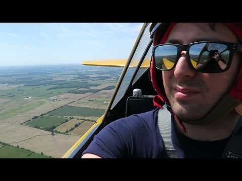 FLYING IN A HARVARD MK. IV! Canadian Warplane Heritage Museum FLYFEST 2016!