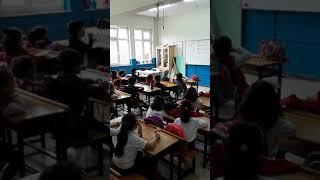 Aydınlı İlkokulu 1/B sınıfı Meyve Sepeti oyunu
