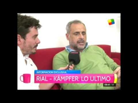 Jorge Rial y Agustina Kämpfer, más enamorados que nunca, ahora compartirán camarín