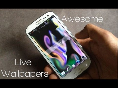 10 Best Android Live WallPapers of 2013 #2 - YouTube