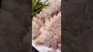 삼겹살 수육 만들기 (쿡포미 요리)