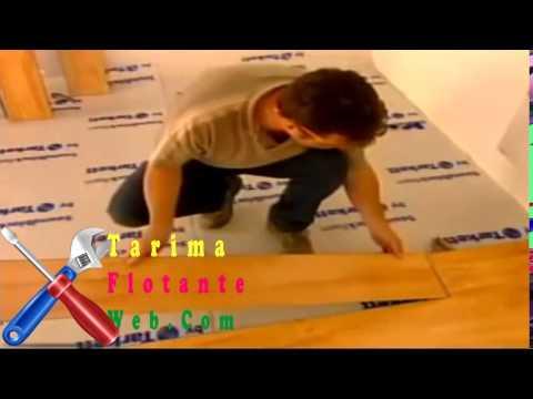 Tarima flotante instalar suelo laminado barata gris colores sintetica youtube - Tarima flotante colores ...