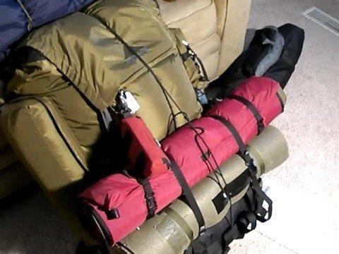 Large Frame Backpacks: Kelty Super Tioga Part 3 - YouTube