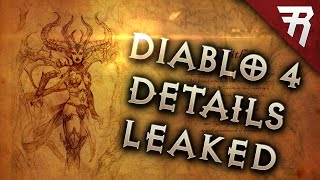 MASSIVE Diablo 4 Leak! Full Reveal At BlizzCon 2019