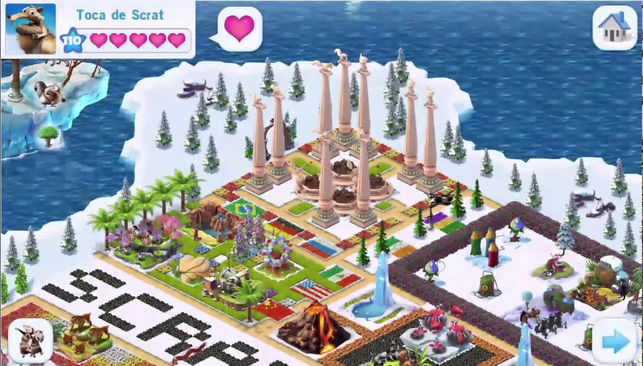 ice age village level 9  youtube