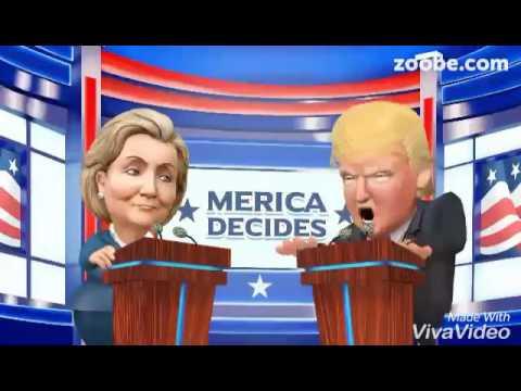 Donalt Trum vs Hila Klinton