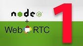 P2P Video Chat with JavaScript / WebRTC - YouTube