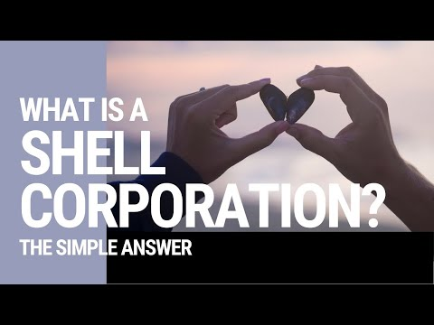 What is a Shell Corporation?