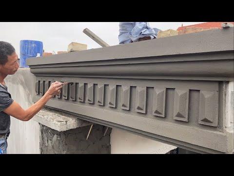 Amazing Techniques Construction Rendering Sand & Cement On The Concrete - House Decoration