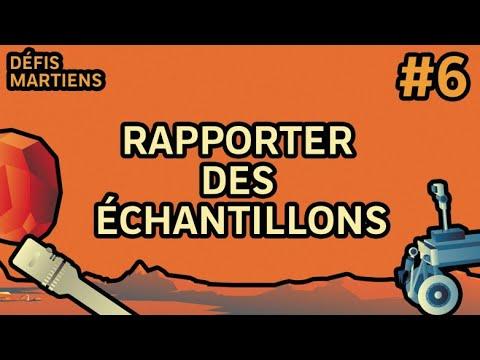 #6 Rapporter des échantillons | Défis Martiens