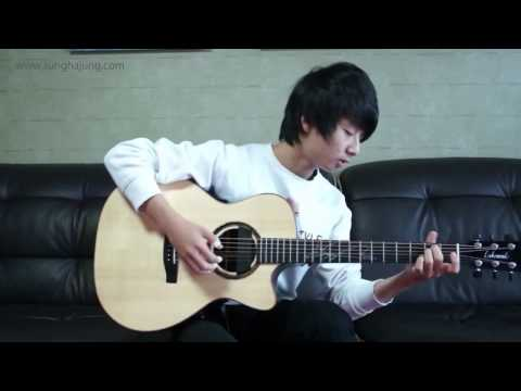 Big Bang) 거짓말   Lies   Sungha Jung Acoustic Tabs Guitar Pro 6