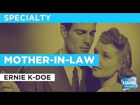 Mother-In-Law in the style of Ernie K-Doe karaoke video