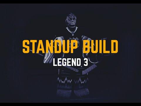 NHL 15: Best EASHL Goalie Standup Build