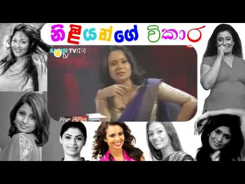 Sri Lankan Actress Going Charter In Live