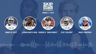 UNDISPUTED Audio Podcast (08.07.19) with Skip Bayless, Shannon Sharpe & Jenny Taft | UNDISPUTED