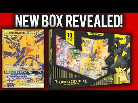 New GOLD Pikachu & Zekrom PROMO Box Revealed!